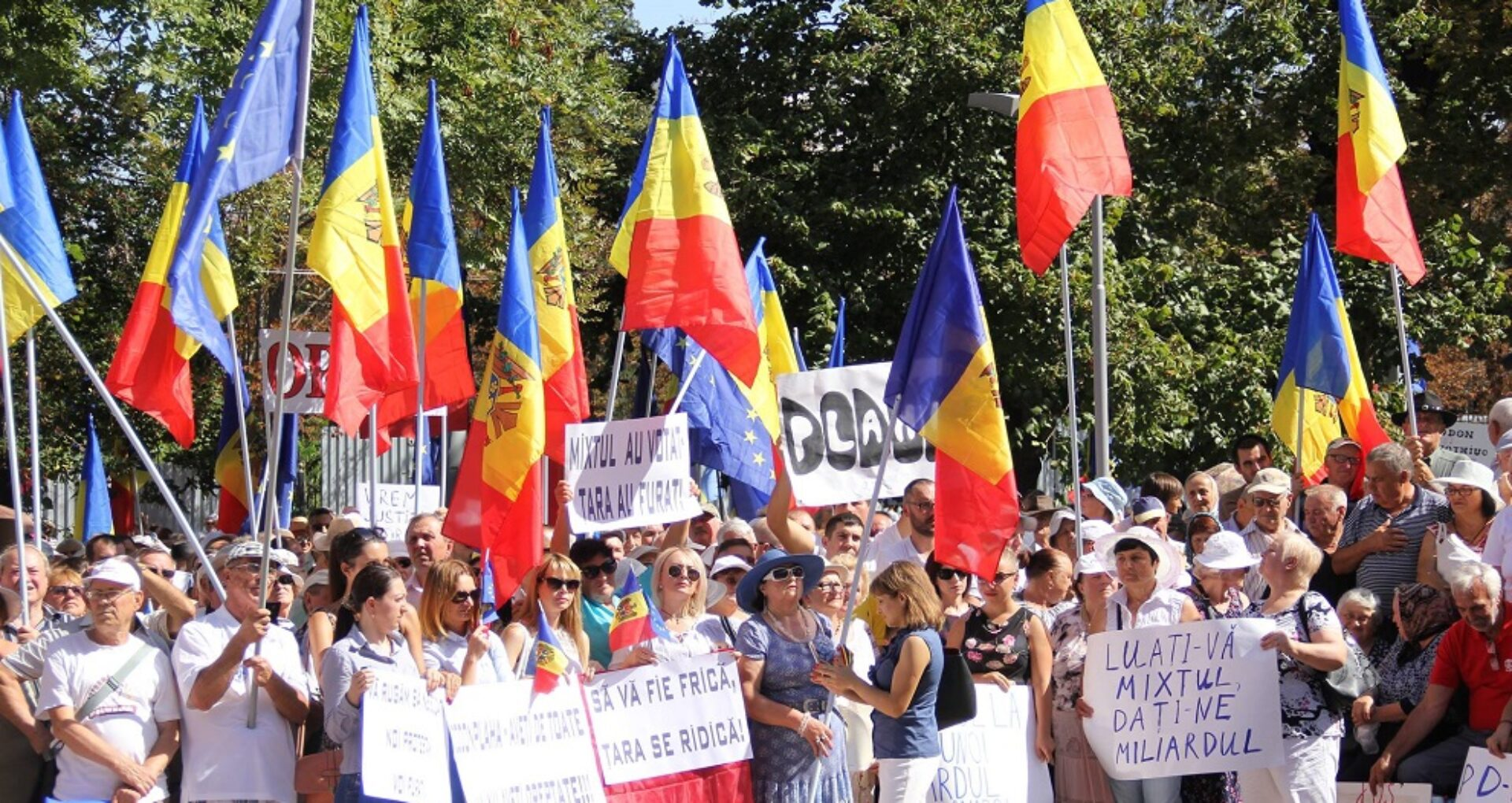 (Update) Ultimatum până vineri! Dacă nu va obține o oră de emisie la Moldova 1 opoziția va relua protestele