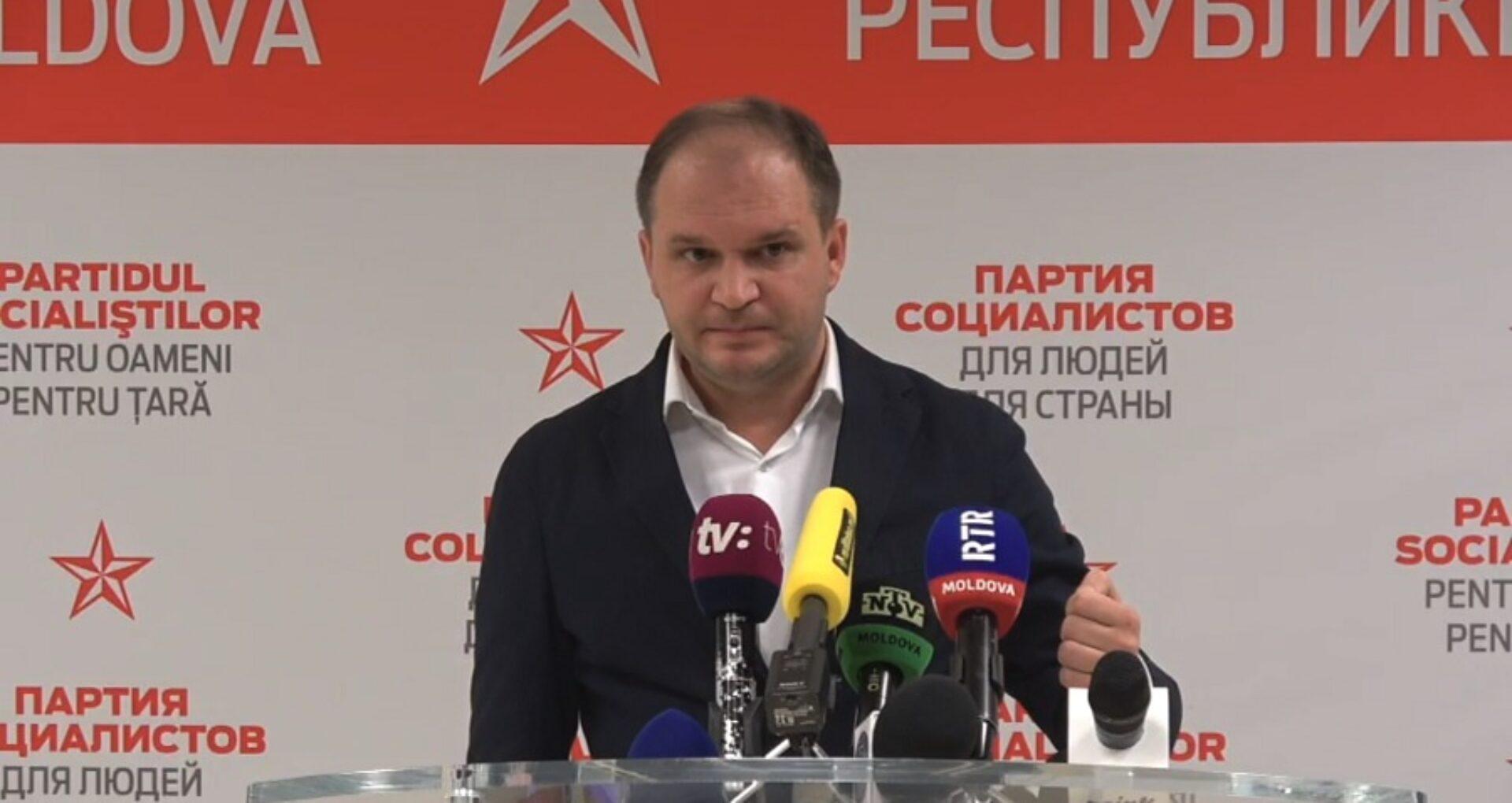 Ultima oră: Cine este Ion Ceban, candidatul socialiștilor pentru funcția de primar al mun. Chișinău