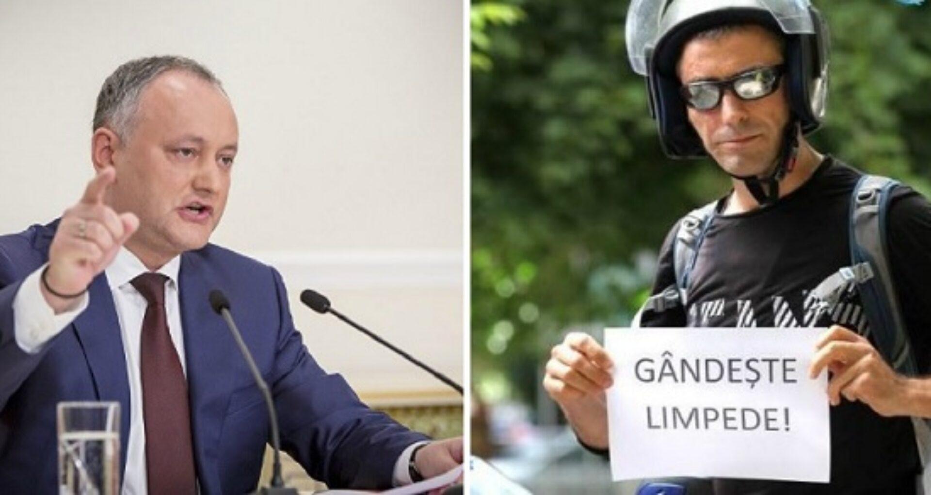 Instanța a decis comasarea dosarelor fotojurnalistului Grigoriță împotriva președinției și a lui Dodon