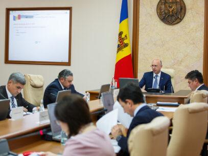 (Live-text & Video) O nouă ședință a Guvernului: 48 de subiecte incluse pe ordinea de zi