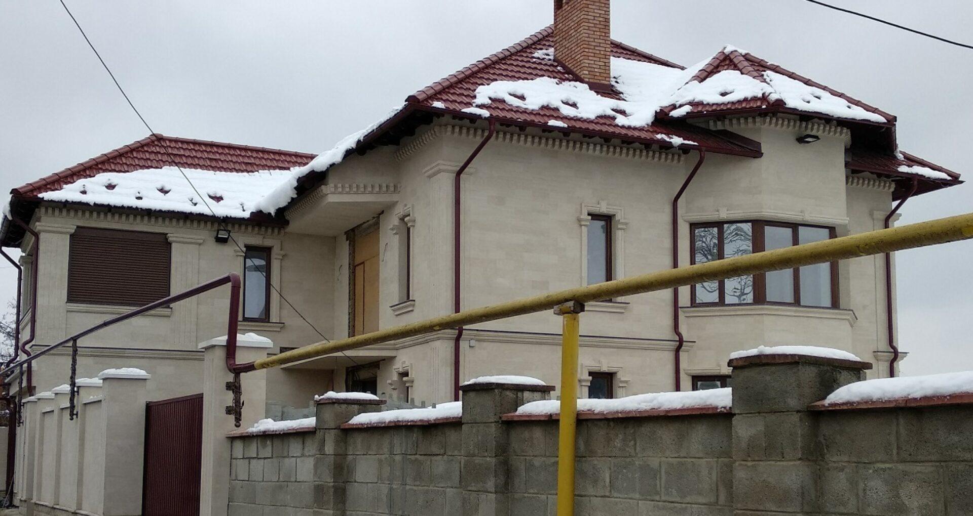 (foto) Casa de milioane a deputatei Ivanov a fost finalizată