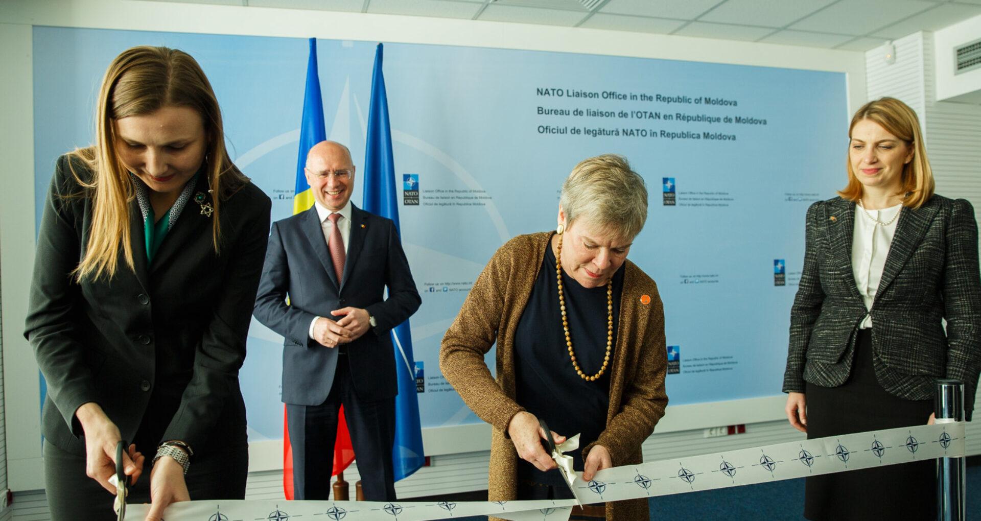 Deschiderea biroului NATO la Chișinău vs Nemulțumirea lui Dodon
