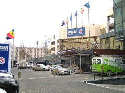 """VIDEO/ """"Cartierul PDM"""" din centrul capitalei: Ce se întâmplă la 3 luni de la plecarea lui Plahotniuc"""