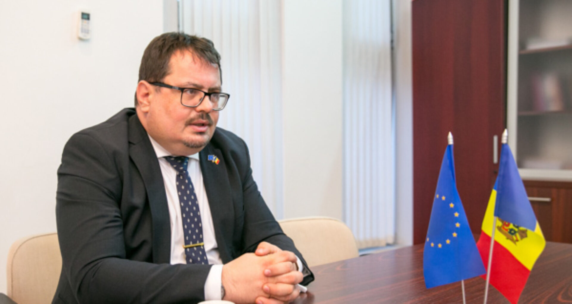 """Peter Michalko: """"Sunt consternat de atacurile dure, nefondate și rău-intenționate, lansate la adresa societății civile și a mass-media independente din Republica Moldova"""""""