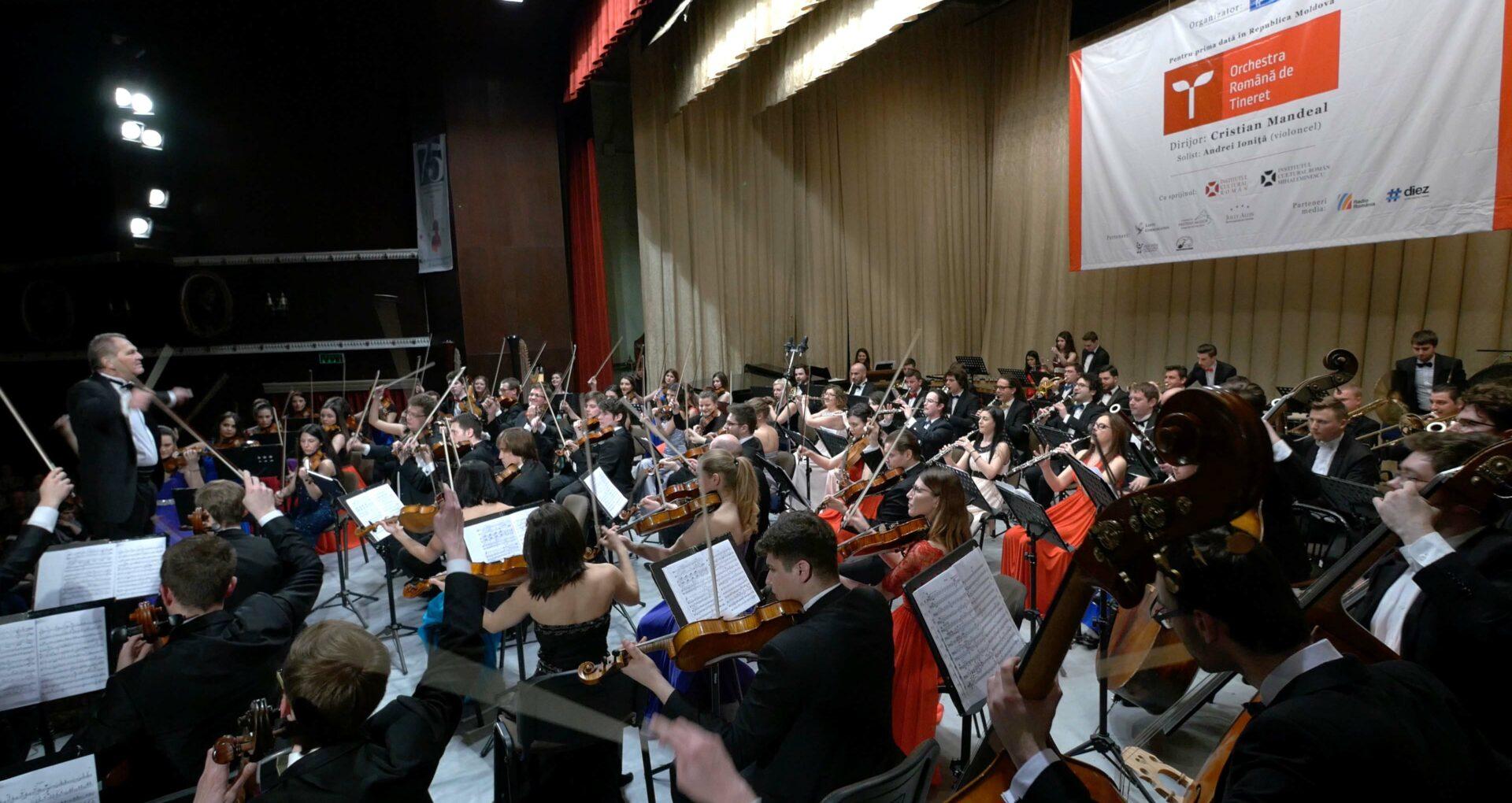 Orchestra Românăde Tineret – turneu aniversar de 10 ani la Chişinău şi Bălţi