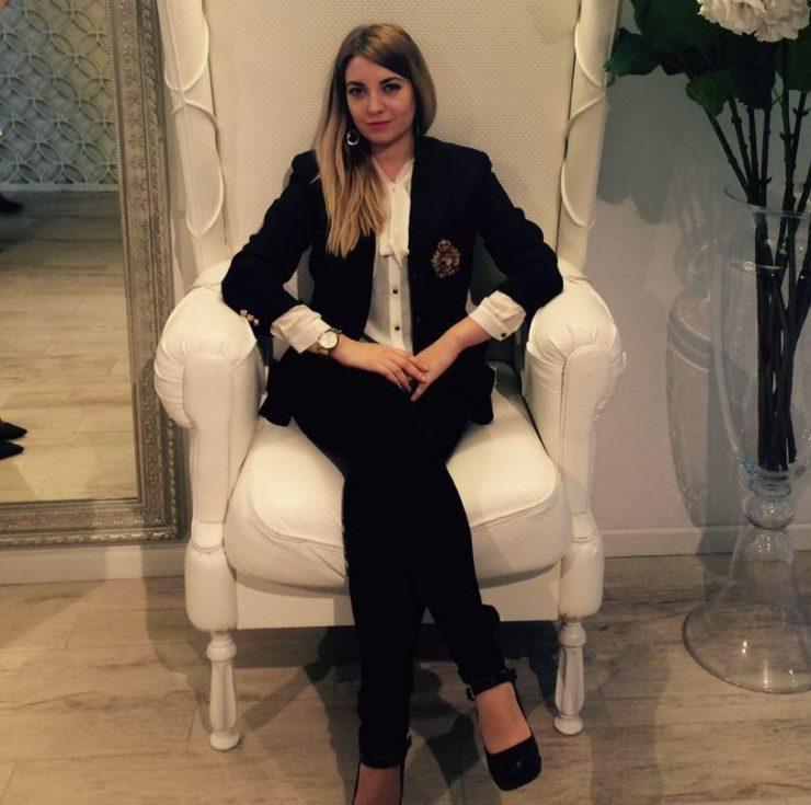 """Victoria Condratiuc, administratoare și cofondatoare a companiei """"Immobile Consulting"""" SRL"""