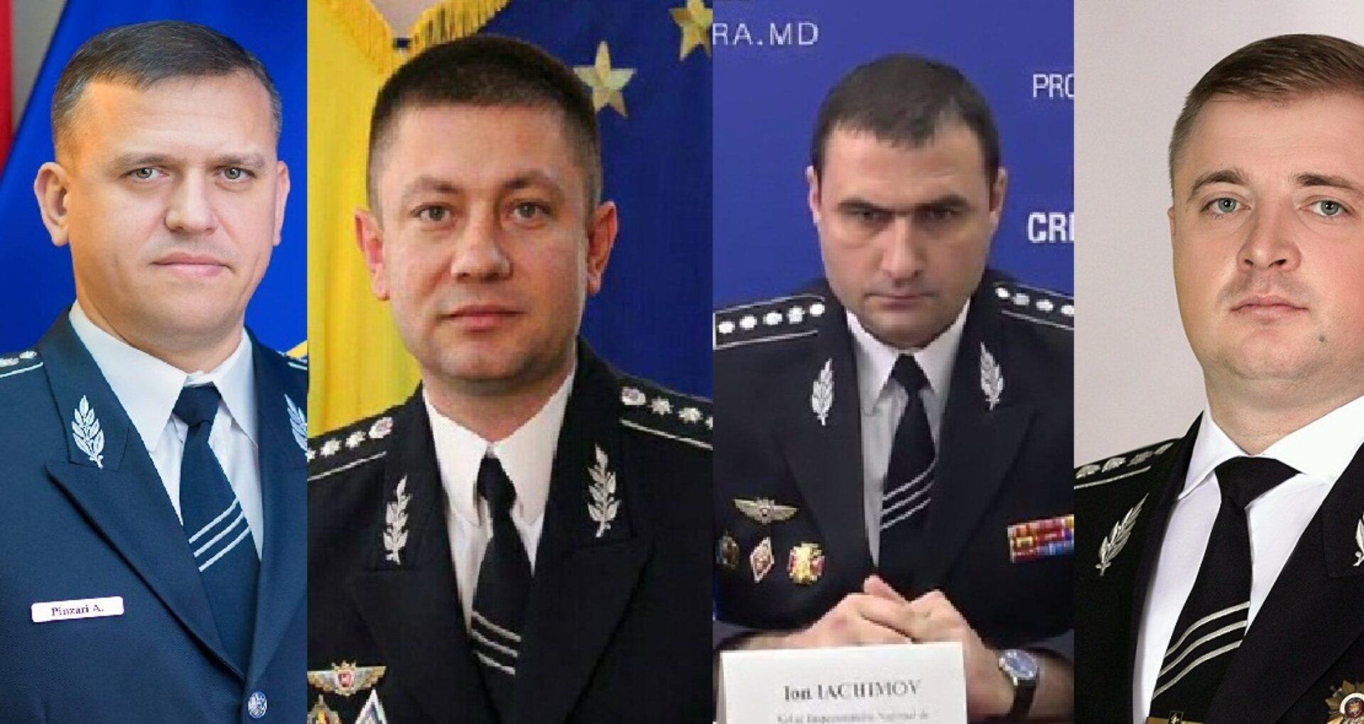 (doc) Averea oficială a polițiștilor-șefi de la IGP, INP și INI