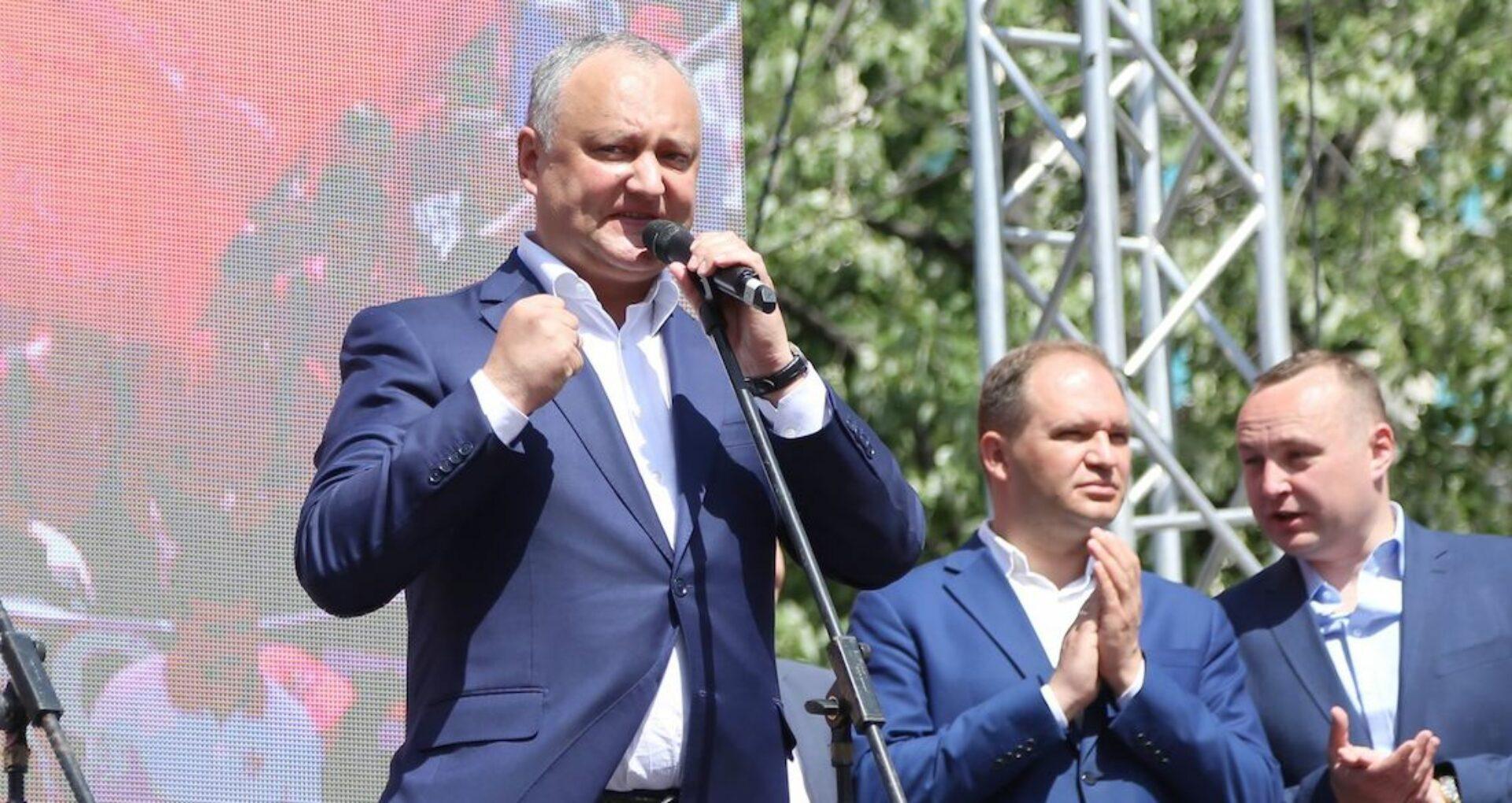 (video) Igor Dodon recunoaște că PSRM a organizat și plătit transportul pentru a aduce participanții la marș