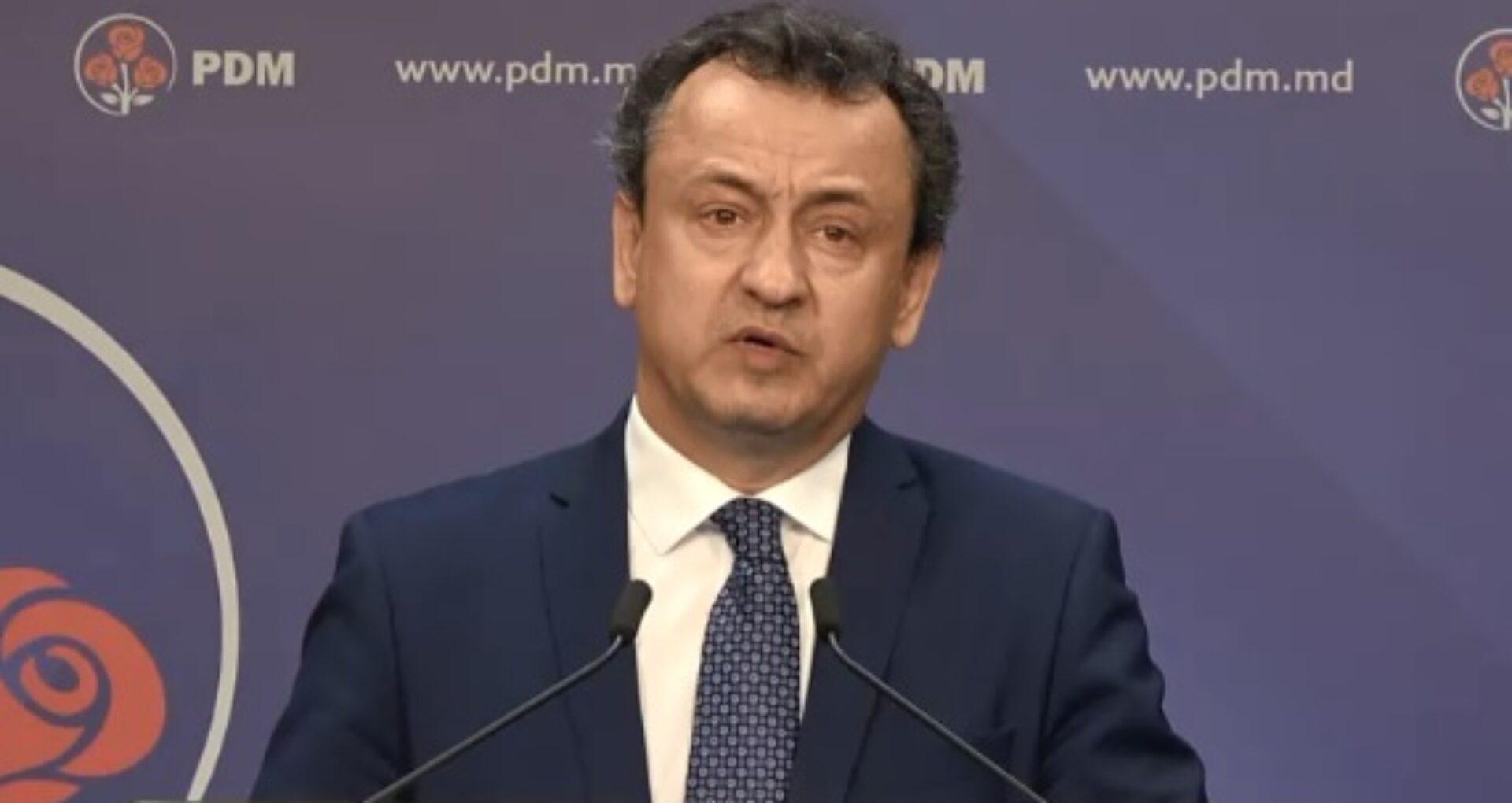 Purtătorul de cuvânt al PDM-ului REFUZĂ să vorbească despre dosarul în care este vizat Vlad Plahotniuc
