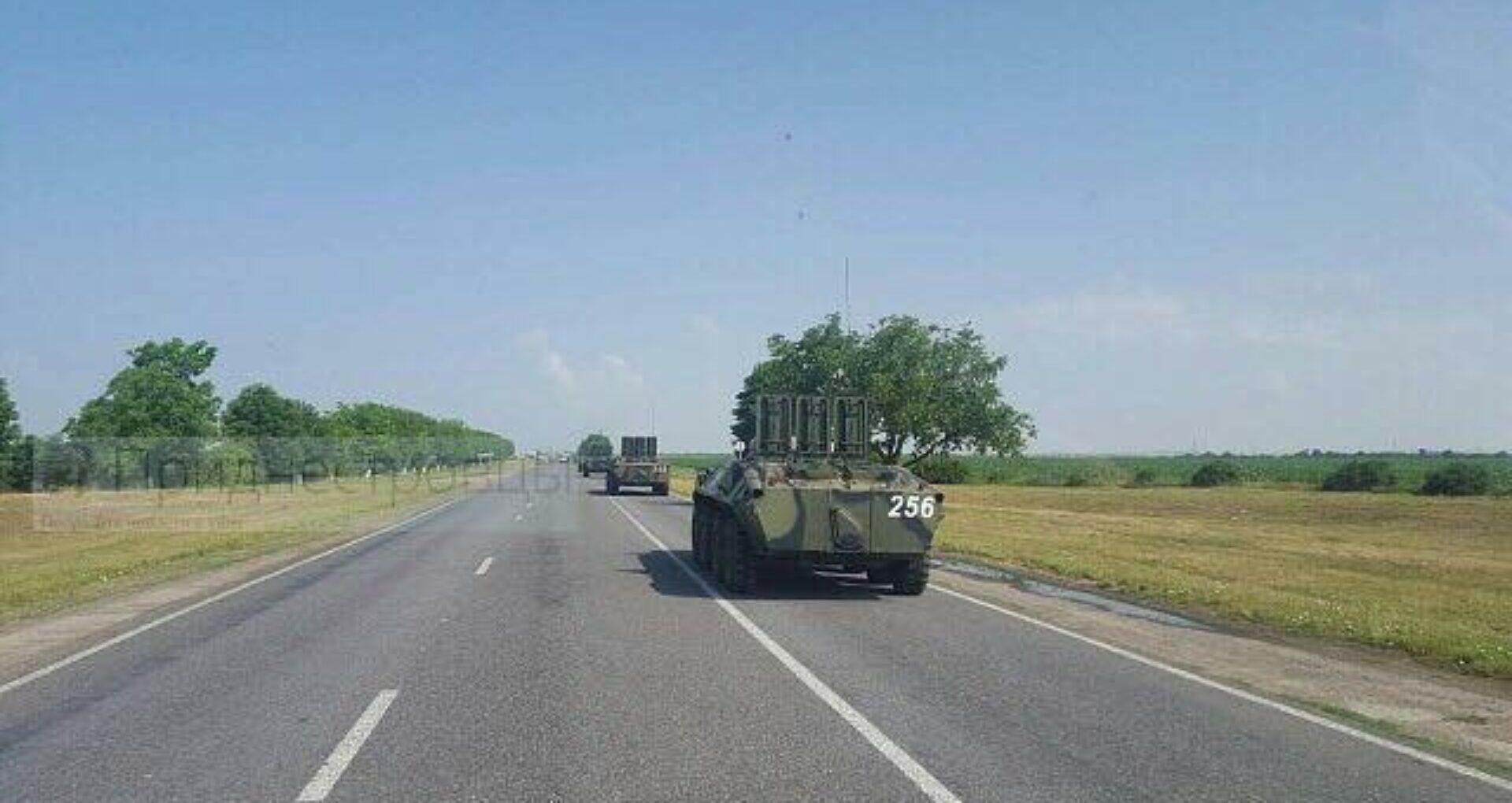 VIDEO/ Cum explică Federația Rusă deplasarea celor trei coloane cu tehnică militară pe traseul Tiraspol-Râbnița