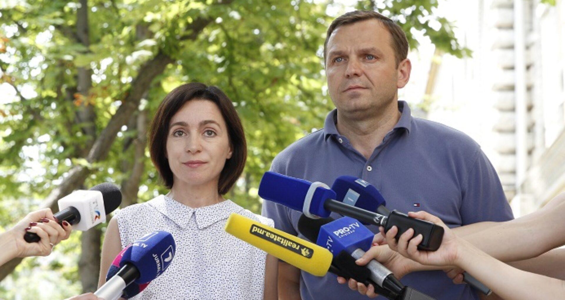 În ce circumscripții vor candida Maia Sandu și Andrei Năstase