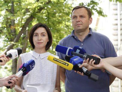 """Andrei Năstase, după ce Maia Sandu conduce în cursa pentru funcția de președinte. """"Popor curajos al Moldovei, ai scris istorie"""""""
