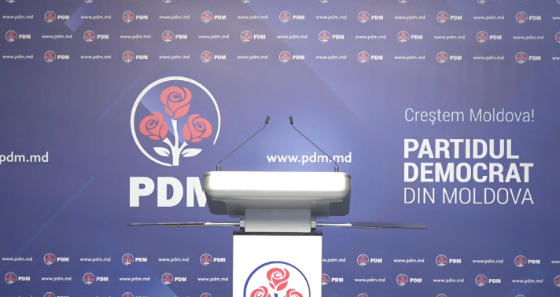 Reacția PDM la acuzațiile aduse în adresa lui Plahotniuc de către Ministerul de interne din Rusia