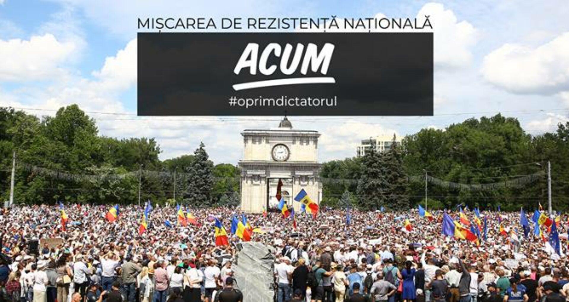 Organizatorii protestului din 26 august îndeamnă cetățenii să înnopteze în PMAN