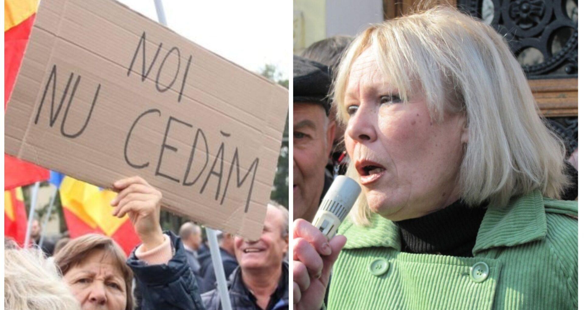 Protestatarii vor împărți duminică PMAN cu Maia Laguta