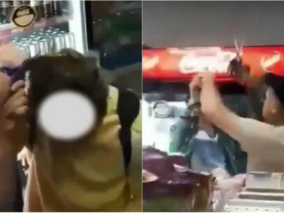 VIDEO/ Doi tineri, tunși forțat la o benzinărie din Călărași. Un grup de persoane i-au înjurat pentru că aveau părul lung