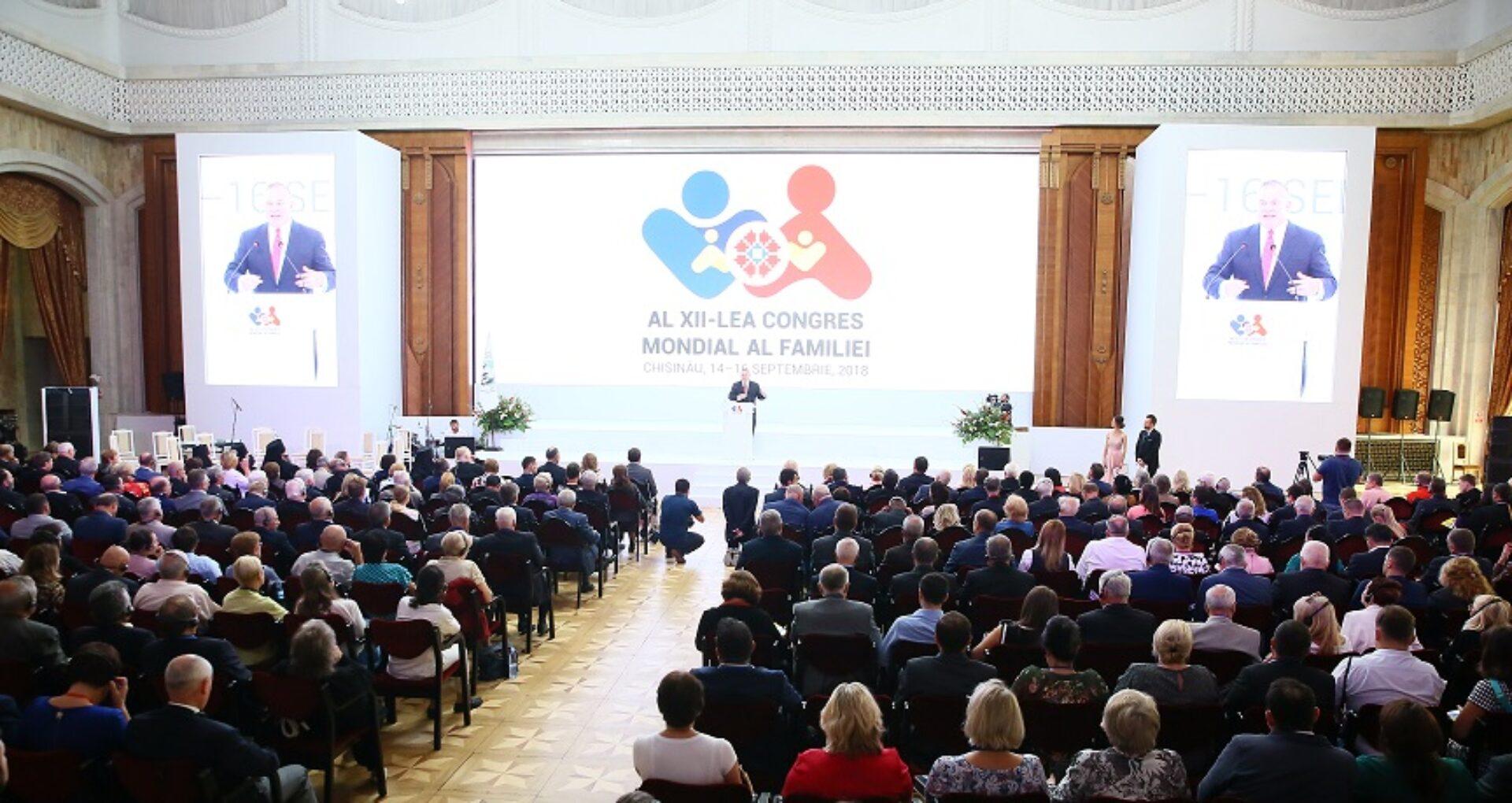 Costurile organizării Congresului Mondial al Familiilor la Chișinău