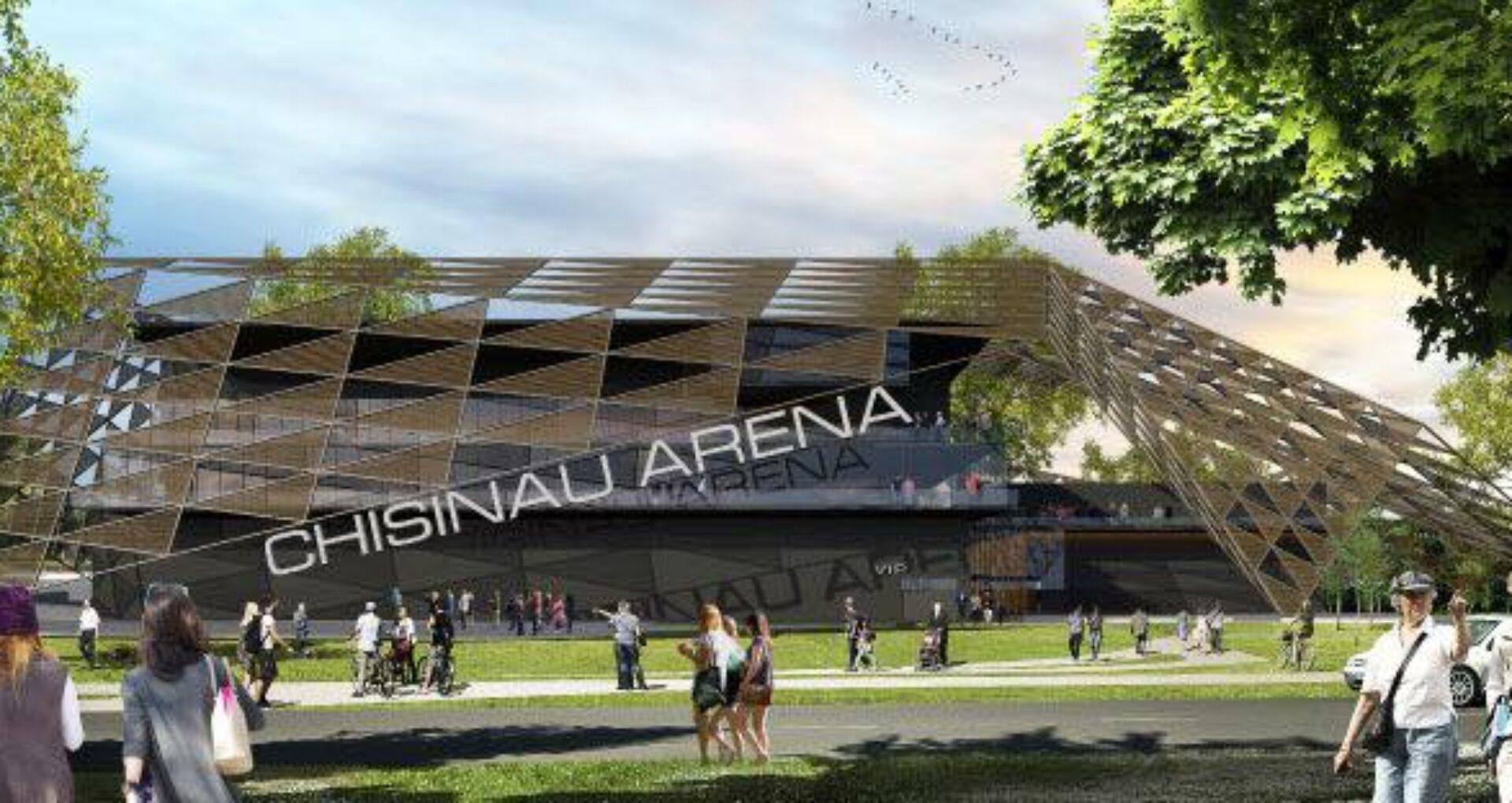 """FOTO/ Lansarea oficială a lucrărilor de construcție: cum va arăta complexul """"Chișinău Arena"""""""