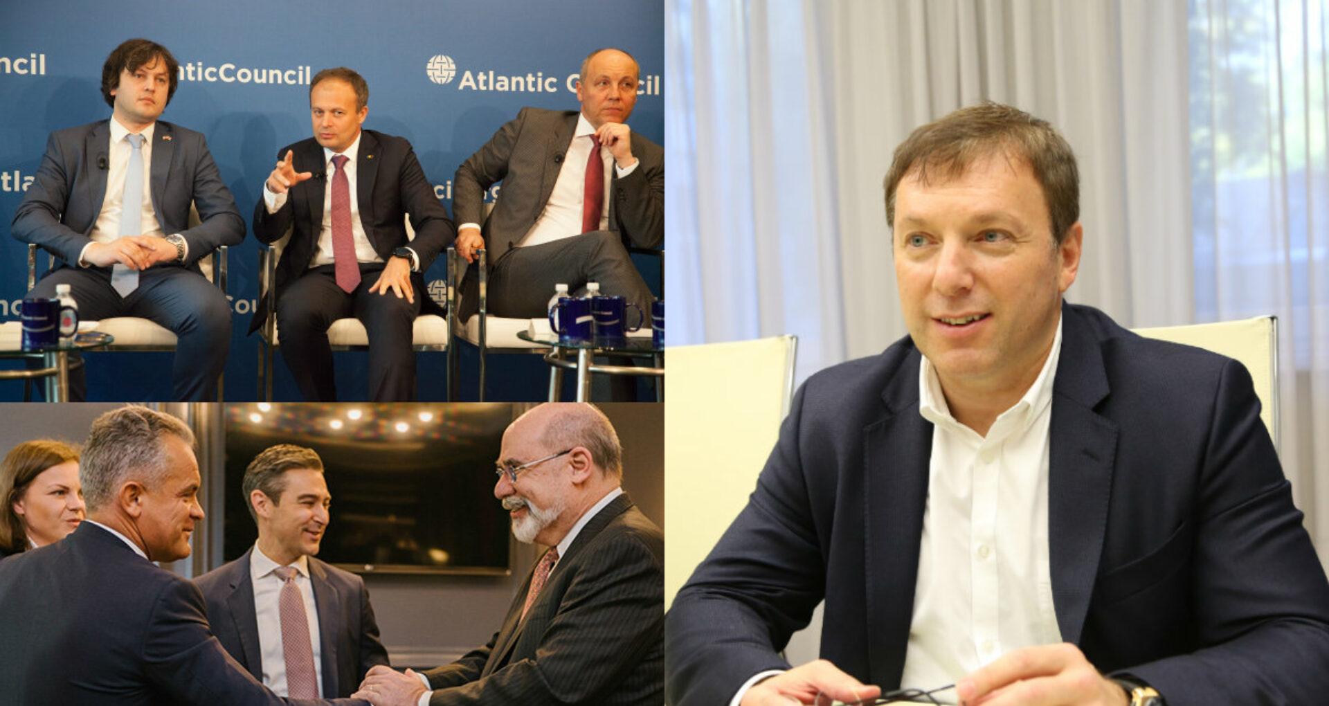 """""""Trans-Oil"""" și milionarul Vaja Jhashi, sponsorii programelor pentru R. Moldova ale Consiliului Atlantic, organizația """"favorită"""" a PDM"""