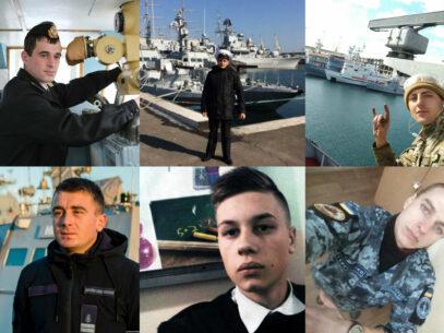 FOTO/ Conflictul din strâmtoarea Kerci. Un tânăr din Chișinău, printre marinarii capturați de FSB