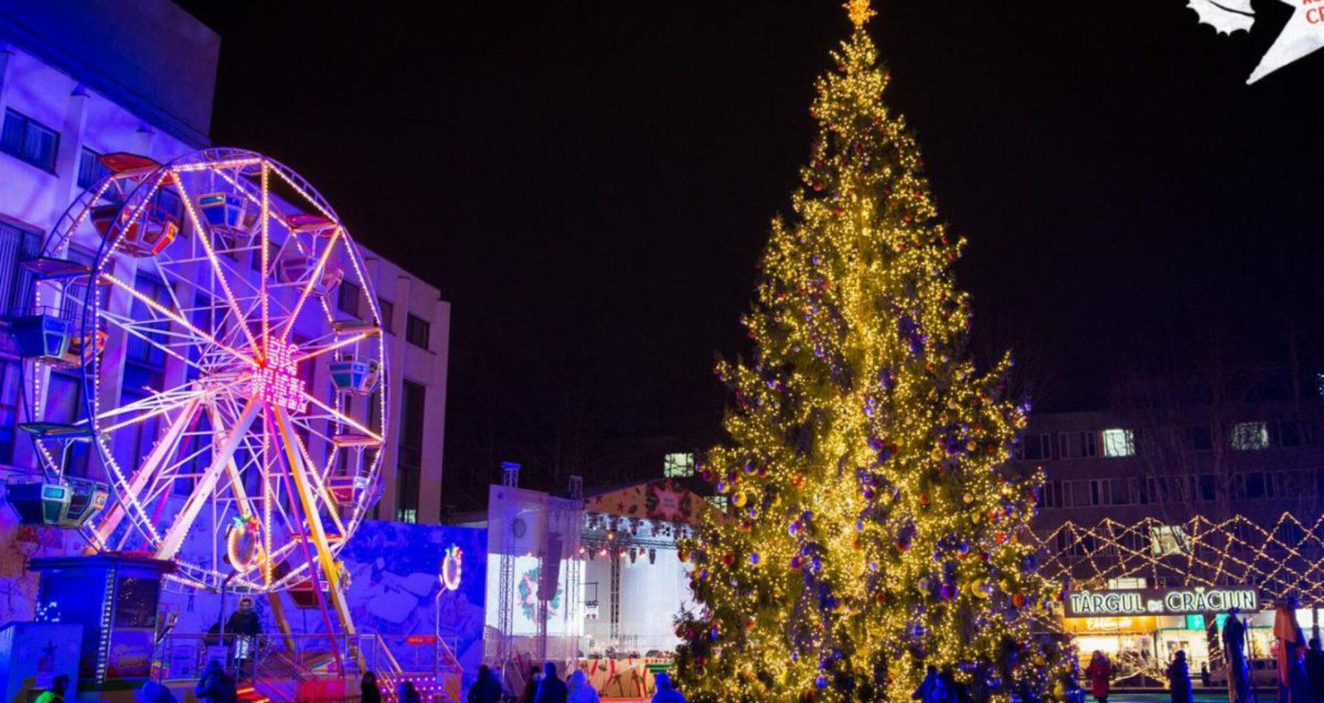 În centrul Chișinăului va fi amenajat Pomul de Crăciun. Târguri și iarmaroace nu vor fi