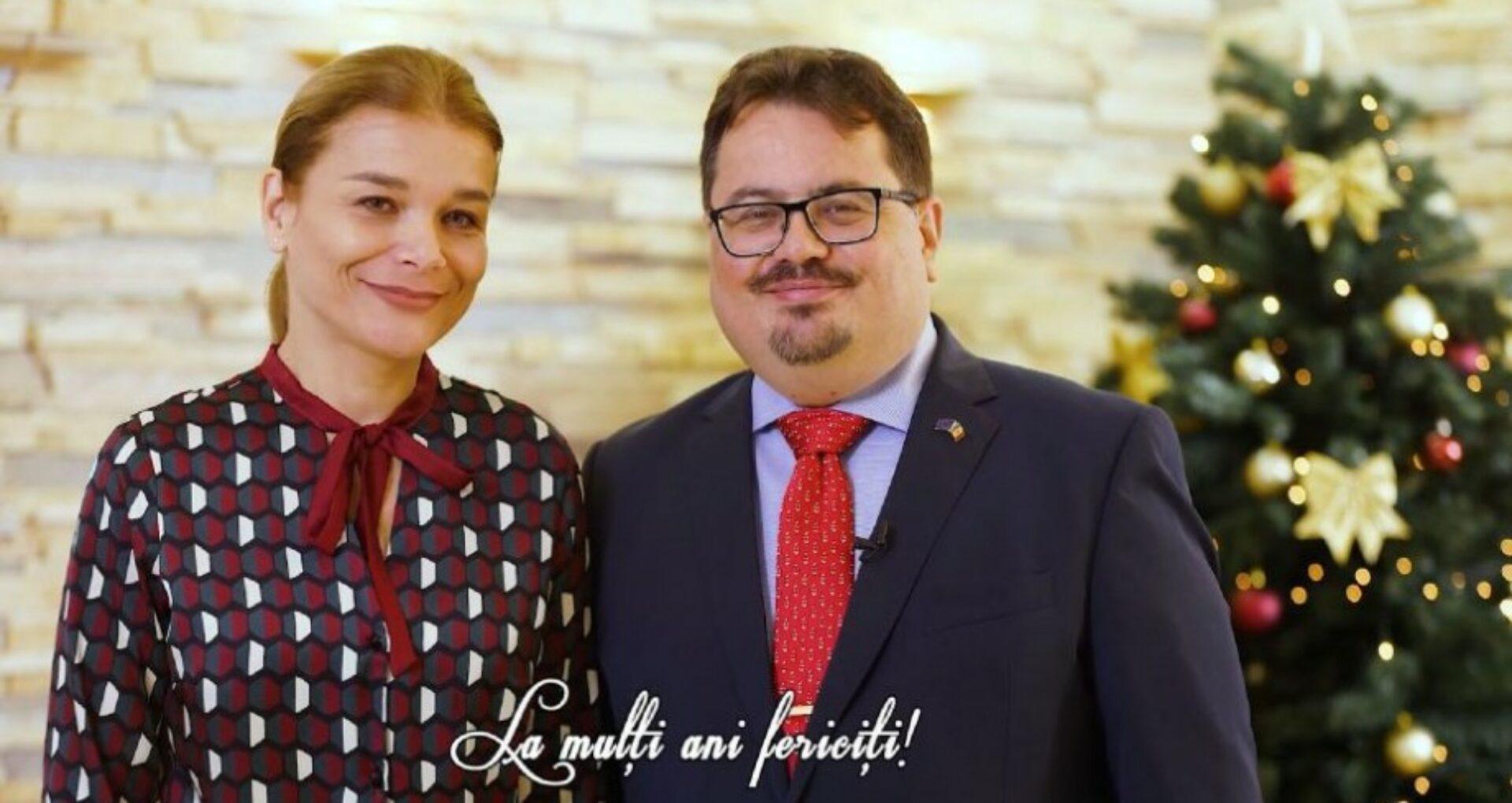 Ambasadorul Uniunii Europene: În seara magică a colindelor vă dorim să ningă asupra voastră cu pace, voie bună și prosperitate