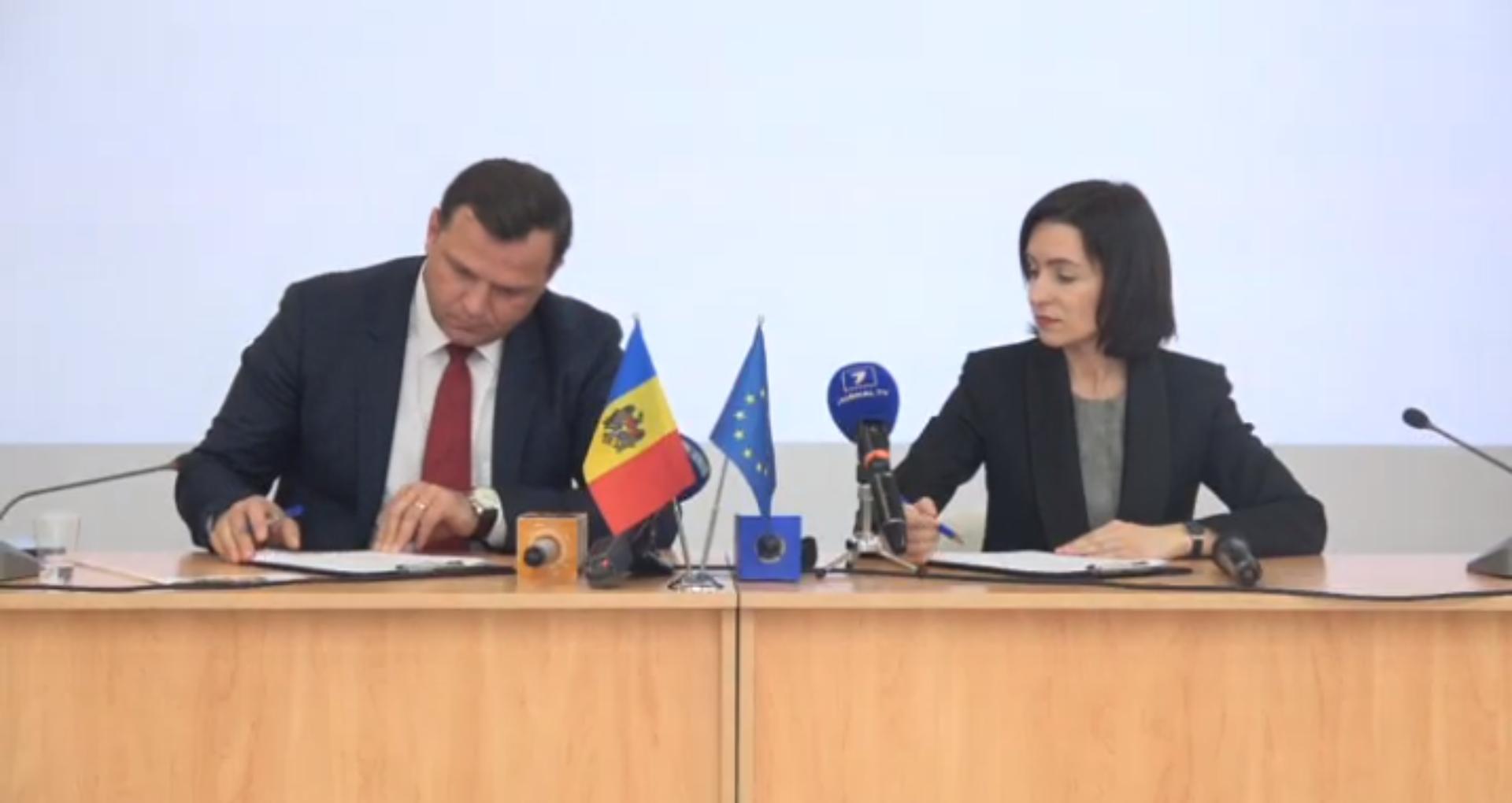 """VIDEO/ Oficial: A fost semnat acordul de constituire a Blocului Electoral """"ACUM"""". Prevederile documentului"""