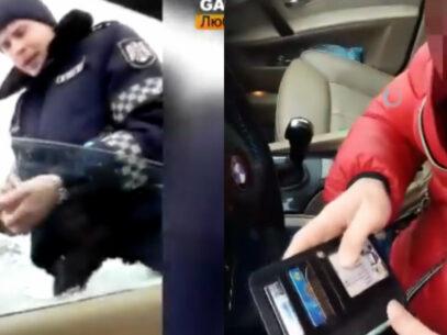 VIDEO/ Poliția a publicat discuția integrală dintre șoferul din Vulcănești și polițistul care a refuzat să vorbească în limba rusă