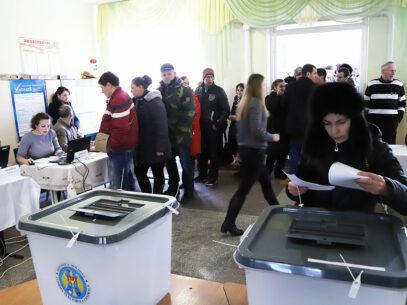 REPORTAJ/ La Doroţcaia, unde au votat locuitorii din stânga Nistrului