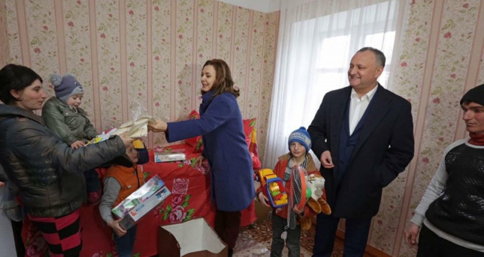 """Fundația """"Din Suflet"""" a Primei Doamne, sponsorizată de fiul procurorului general al Rusiei. Reacția Președinției"""