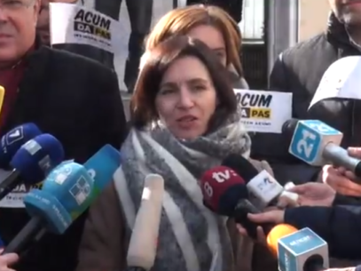 """FLASH/ Maia Sandu despre voturi comune PSRM și Blocul ACUM pentru a """"elibera din captivitate"""" mai multe instituții de stat"""
