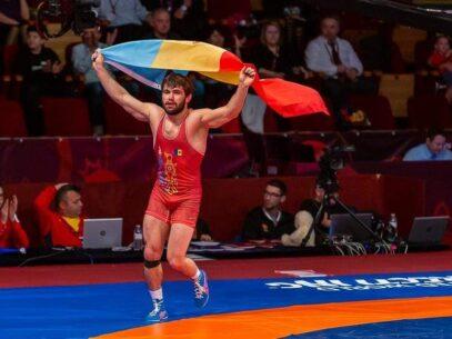 Aur pentru R. Moldova. Victor Ciobanu a devenit campion european la lupte greco-romane
