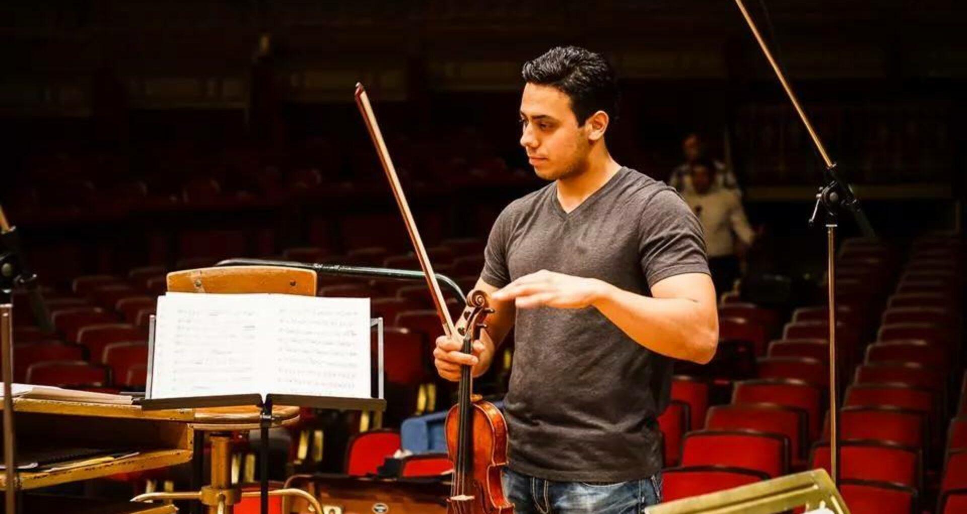 Un moldovean de 27 de ani, numit concertmaistru al Filarmonicii din Israel