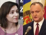 Prezidențiale: Lidera PAS Maia Sandu îl cheamă repetat pe Igor Dodon la o dezbatere publică
