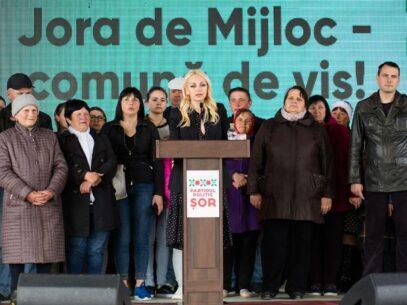 Marina Tauber renunță la fotoliul de primar al comunei Jora de Mijloc în favoarea celui de deputat