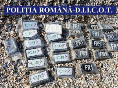 Peste 130 de kilograme de droguri au fost găsite pe litoralul românesc și în mare
