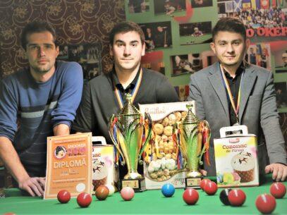 La Chișinău a avut loc Campionatul Moldovei la Snooker