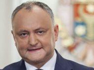 """Dodon, despre candidatul înaintat de Sandu la funcția de premier al R. Moldova: """"Așteptăm programul și componența Guvernului"""""""