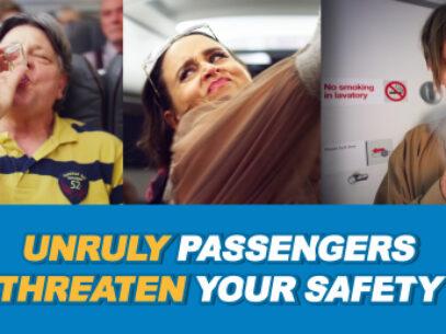 La fiecare 3 ore, un pasager turbulent pune în pericol siguranţa unui zbor din UE