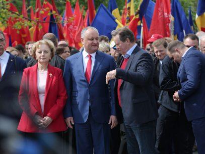 PSRM organizează vineri un marș de susținere a lui Igor Dodon la prezidențiale? Locuitorii capitalei sunt sunați la numerele de fix și invitați la manifestație