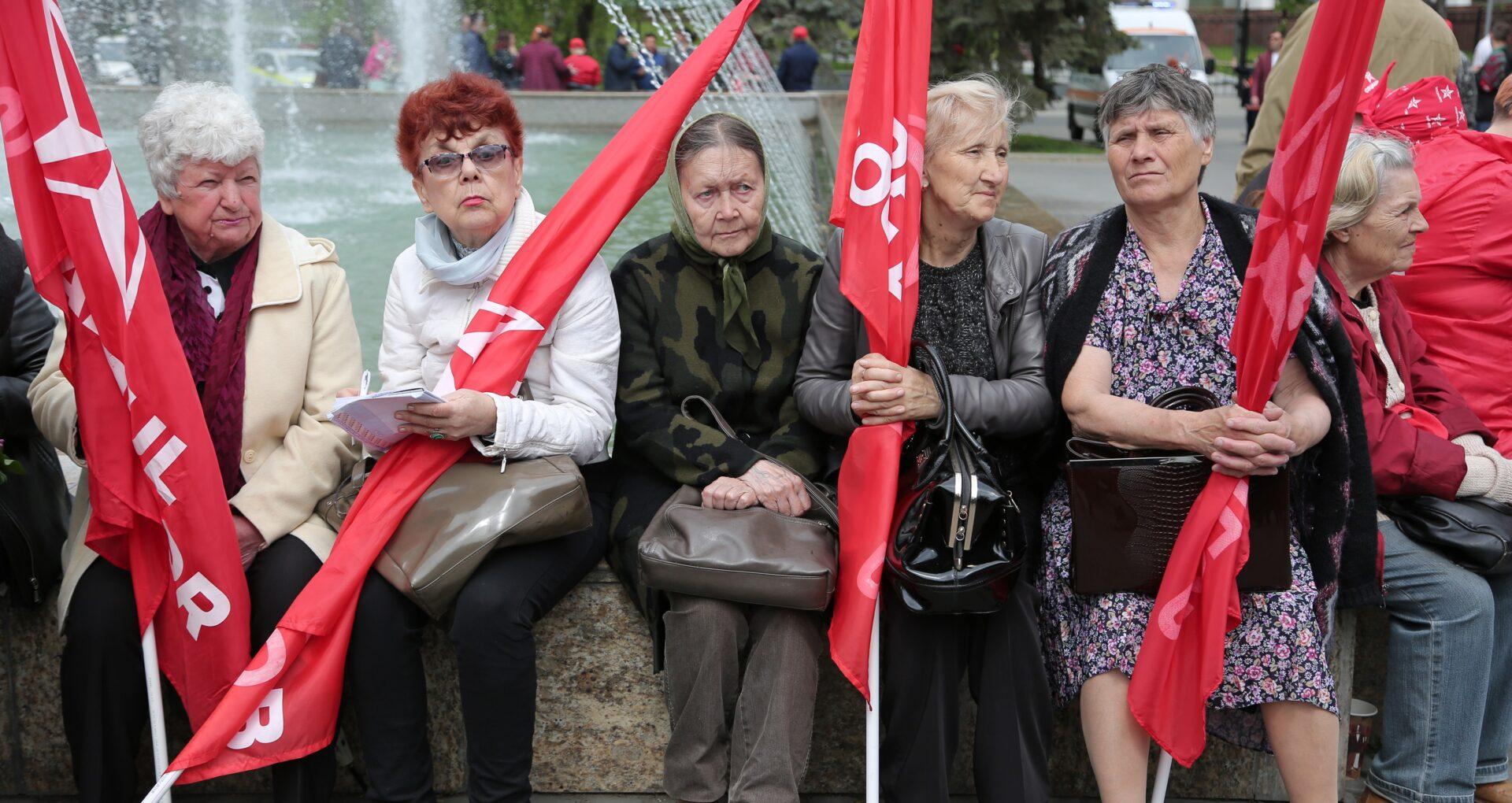 FOTOREPORTAJ de la marșul organizat de Partidul Socialiștilor cu ocazia zilei de 1 mai