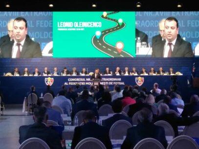 Cine este Leonid Oleinicenco, noul președinte al Federației Moldovenești de Fotbal