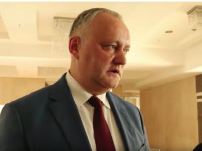 "VIDEO/ Dodon: ""Plahotniuc s-a întâlnit cu Kozak la Președinție"""