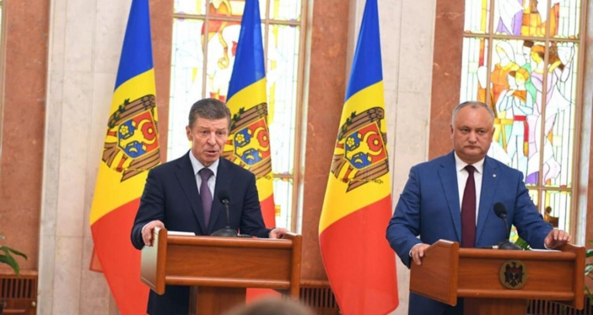 Igor Dodon a stabilit cu Dmitri Kozak o vizită în Federația Rusă, după ce a pierdut alegerile prezidențiale