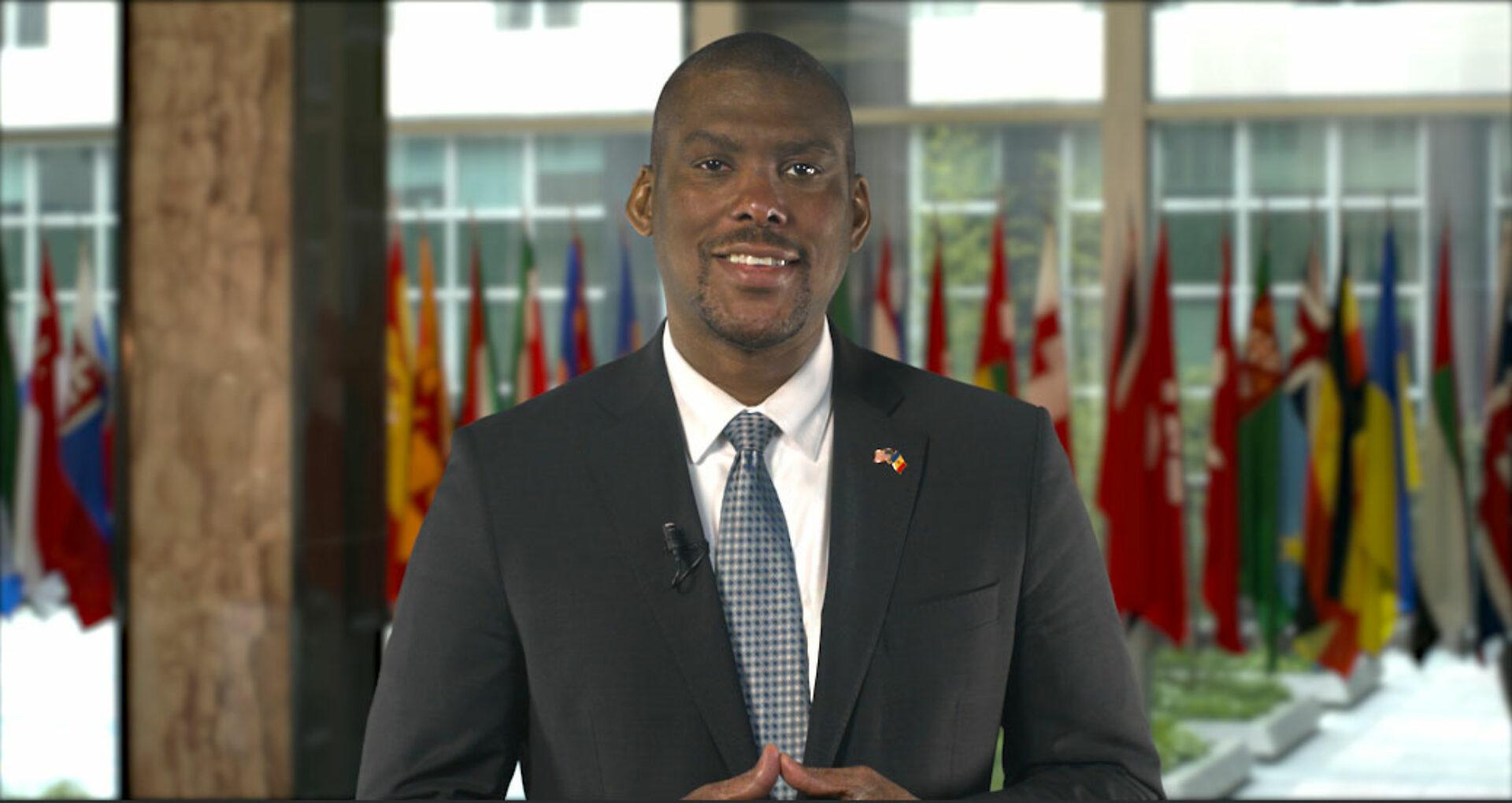"""VIDEO/ Mesajul ambasadorului SUA în R. Moldova, Dereck J. Hogan, la final de mandat: """"plec, știind că relația noastră este puternică și în creștere"""""""