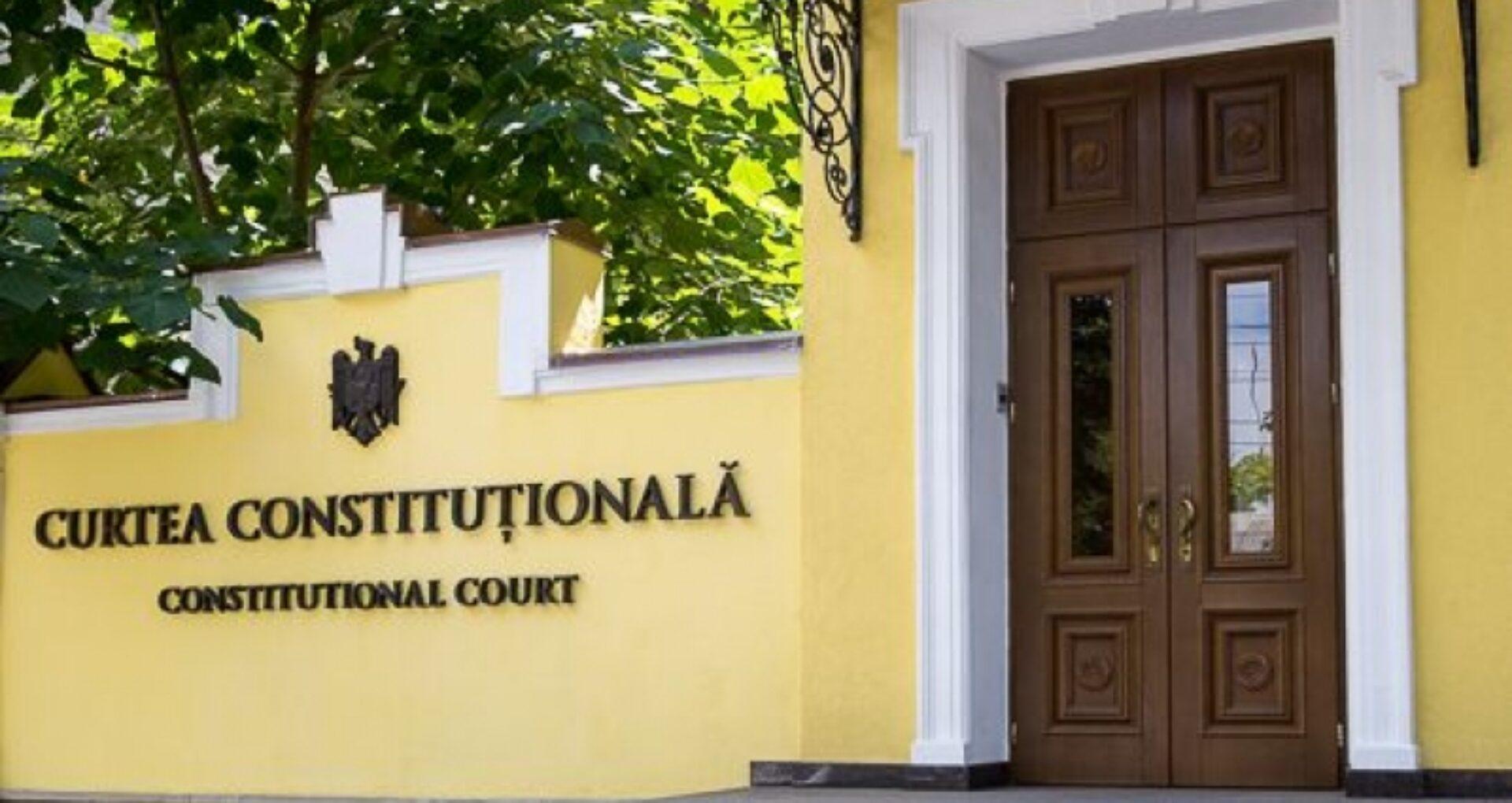 DOC/ CC: Judecătorii constituționali beneficiază de imunitatea funcțională și după expirarea mandatului acestora