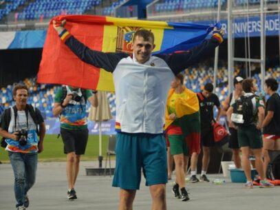 Sportivul moldovean Andrian Mardare a cucerit aurul la Universiada Mondială