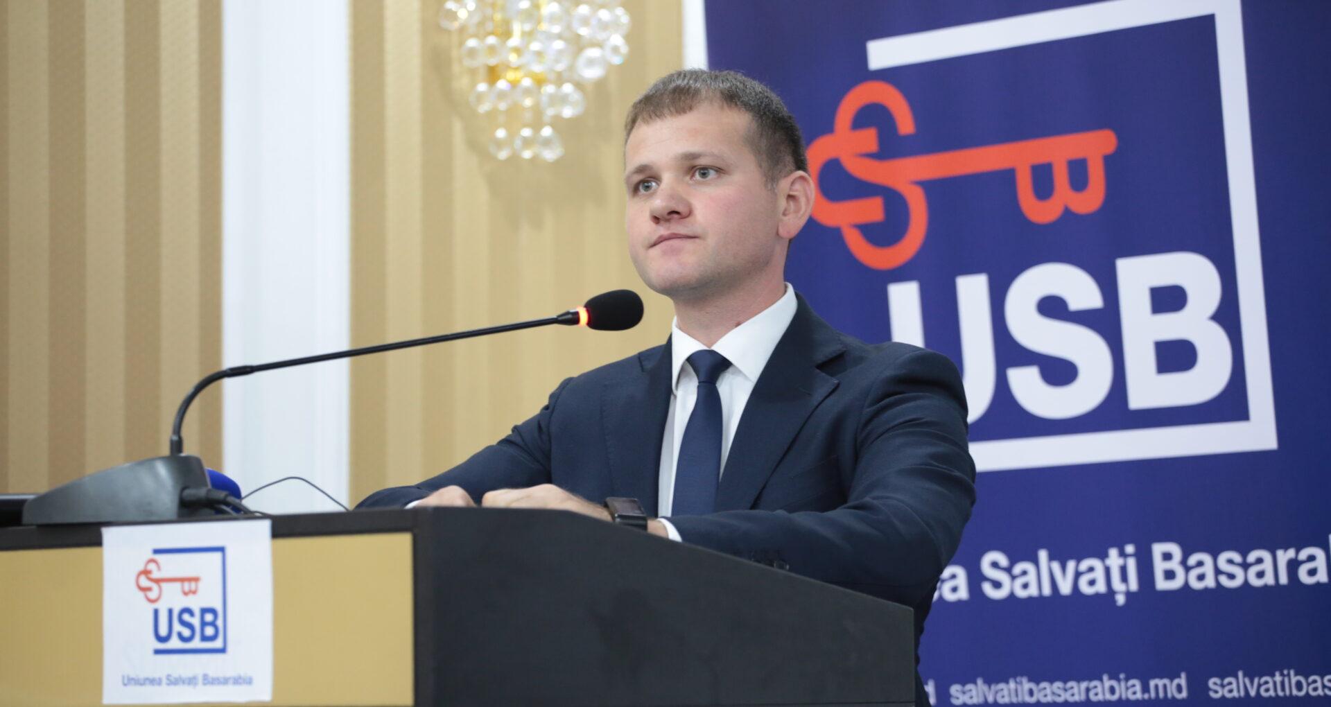 Valeriu Munteanu va lupta pentru fotoliul de primar al capitalei din partea formațiunii USB