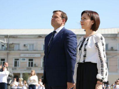 """FOTOREPORTAJ/ """"Șefii"""" R. Moldova la 28 de ani de Independență"""