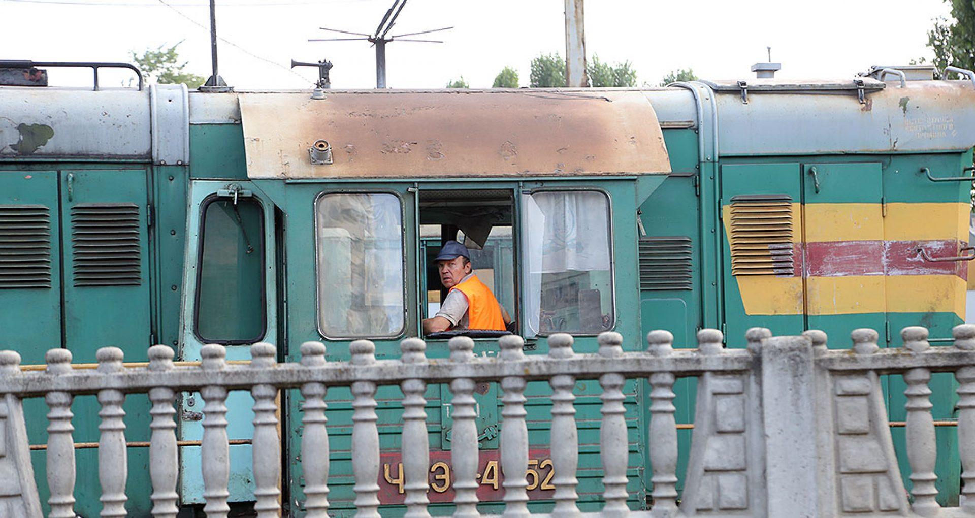 Angajaţii nodului feroviar Bălți protestează din cauza întârzierilor salariale
